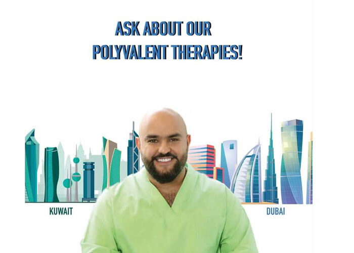 Ask about our polyvalent therapies!